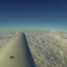 Vol à Macon avec le Cirrus SR20 de l'aéroclub (tentative)